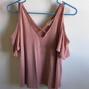 Tops - Open Shoulder Tee